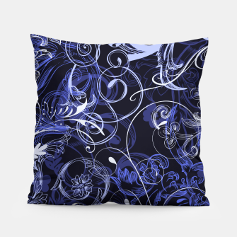 Thumbnail image of floral ornaments pattern db Pillow, Live Heroes