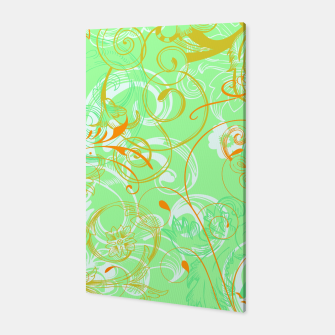 Thumbnail image of floral ornaments pattern dvgoi Canvas, Live Heroes