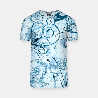 Thumbnail image of floral ornaments pattern ccoi T-shirt, Live Heroes