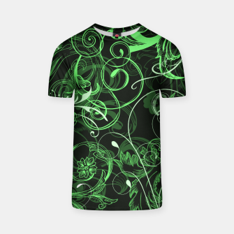 Thumbnail image of floral ornaments pattern de T-shirt, Live Heroes