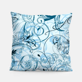 Thumbnail image of floral ornaments pattern ccoi Pillow, Live Heroes