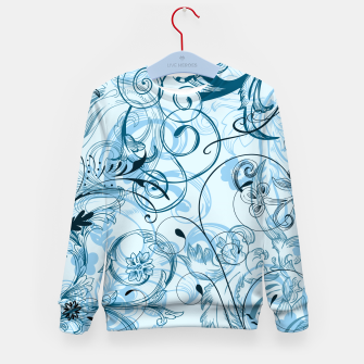 Thumbnail image of floral ornaments pattern ccoi Kid's sweater, Live Heroes