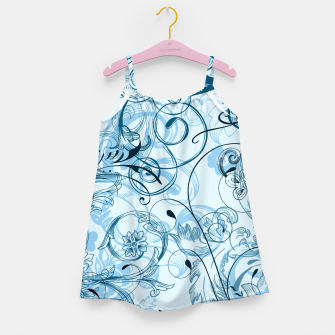 Thumbnail image of floral ornaments pattern ccoi Girl's dress, Live Heroes