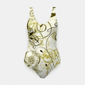 Thumbnail image of floral ornaments pattern dbi Swimsuit, Live Heroes