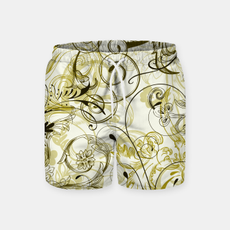 Thumbnail image of floral ornaments pattern dbi Swim Shorts, Live Heroes