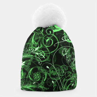 Thumbnail image of floral ornaments pattern de Beanie, Live Heroes