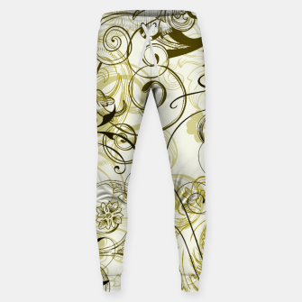 Thumbnail image of floral ornaments pattern dbi Sweatpants, Live Heroes
