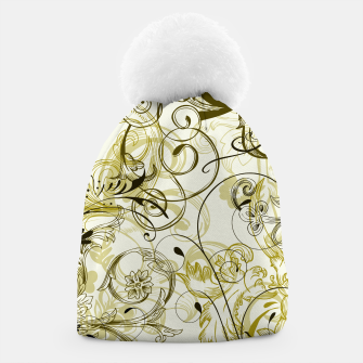 Thumbnail image of floral ornaments pattern dbi Beanie, Live Heroes