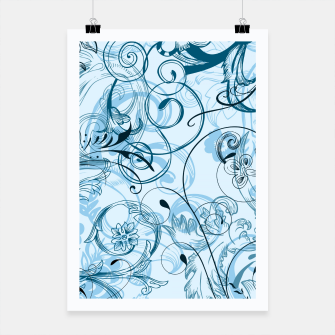 Thumbnail image of floral ornaments pattern ccoi Poster, Live Heroes