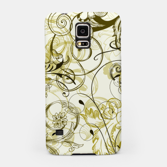 Thumbnail image of floral ornaments pattern dbi Samsung Case, Live Heroes