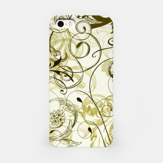 Thumbnail image of floral ornaments pattern dbi iPhone Case, Live Heroes