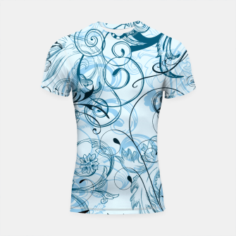 Thumbnail image of floral ornaments pattern ccoi Shortsleeve rashguard, Live Heroes