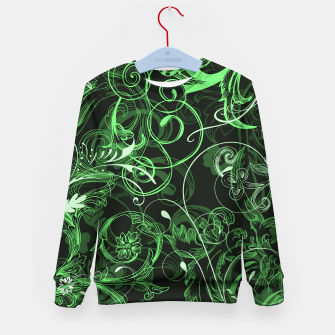 Thumbnail image of floral ornaments pattern de Kid's sweater, Live Heroes