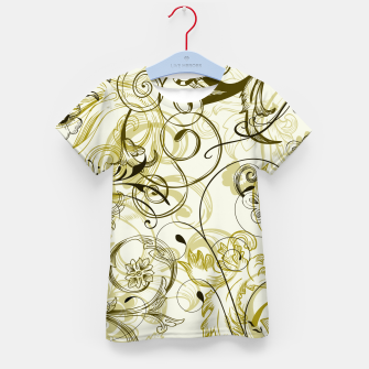 Thumbnail image of floral ornaments pattern dbi Kid's t-shirt, Live Heroes