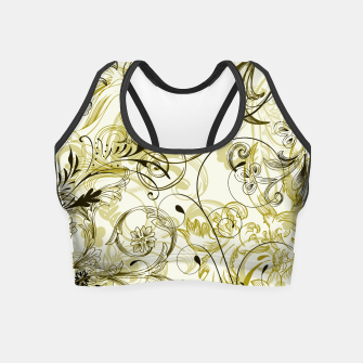 Thumbnail image of floral ornaments pattern dbi Crop Top, Live Heroes