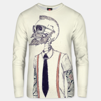 Miniature de image de The Gentleman becomes a Hipster Unisex sweater, Live Heroes