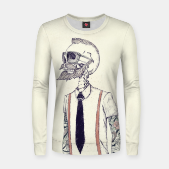 Miniature de image de The Gentleman becomes a Hipster Women sweater, Live Heroes