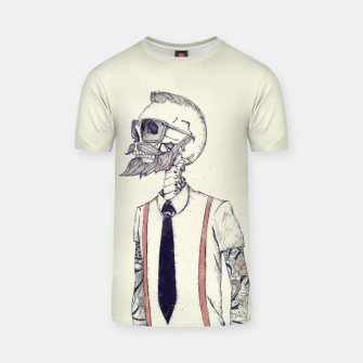 Miniature de image de The Gentleman becomes a Hipster T-shirt, Live Heroes