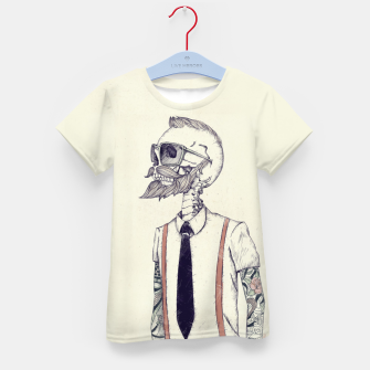 Miniature de image de The Gentleman becomes a Hipster Kid's t-shirt, Live Heroes