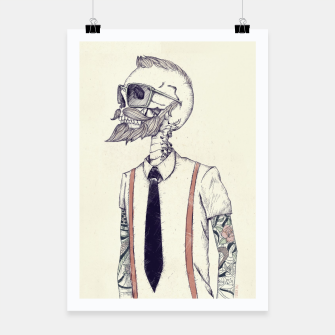 Thumbnail image of The Gentleman becomes a Hipster Poster, Live Heroes