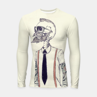 Thumbnail image of The Gentleman becomes a Hipster Longsleeve rashguard , Live Heroes