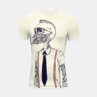 Thumbnail image of The Gentleman becomes a Hipster Shortsleeve rashguard, Live Heroes