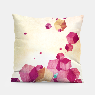 Thumbnail image of Cubes Pillow, Live Heroes