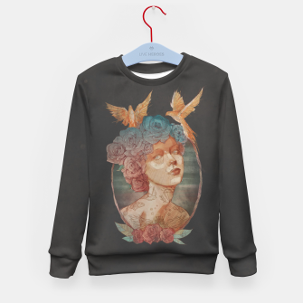 Thumbnail image of Lady Kid's sweater, Live Heroes