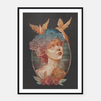 Thumbnail image of Lady Framed poster, Live Heroes