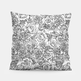 Thumbnail image of Flowers and Swallows Pillow, Live Heroes