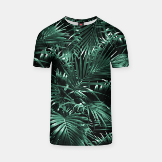 Thumbnail image of Tropical Palm Leaf Jungle Night #1 #tropical #decor #art T-Shirt, Live Heroes