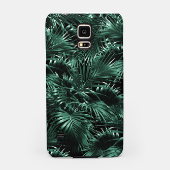 Thumbnail image of Tropical Palm Leaf Jungle Night #1 #tropical #decor #art Handyhülle für Samsung, Live Heroes