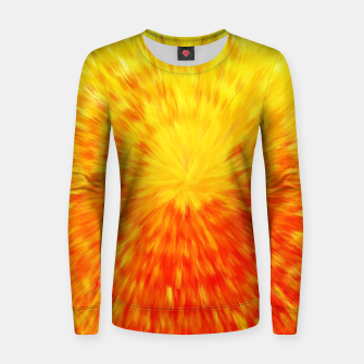 Miniatur Furry Sun Women sweater, Live Heroes