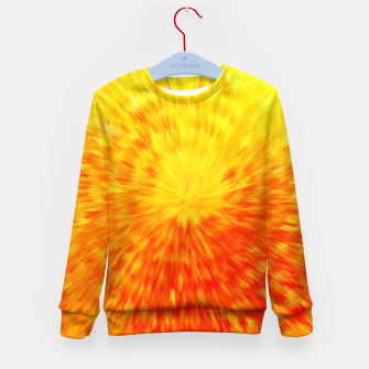 Miniatur Furry Sun Kid's sweater, Live Heroes