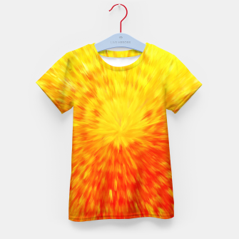 Thumbnail image of Furry Sun Kid's t-shirt, Live Heroes