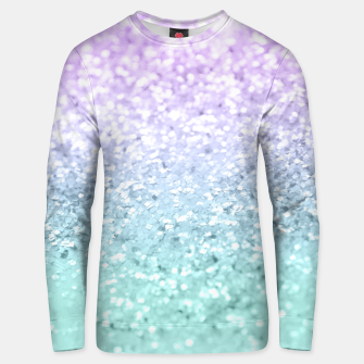 Mermaid Girls Glitter #1a (2019 Pastel Version) #shiny #decor #art  Unisex sweatshirt thumbnail image