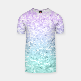 Mermaid Girls Glitter #1a (2019 Pastel Version) #shiny #decor #art  T-Shirt thumbnail image