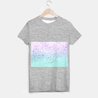 Mermaid Girls Glitter #1a (2019 Pastel Version) #shiny #decor #art  T-Shirt regulär thumbnail image