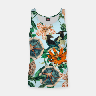 Miniatur Forest Birds Tank Top, Live Heroes
