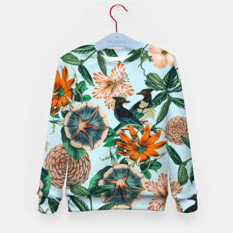 Miniatur Forest Birds Kid's sweater, Live Heroes