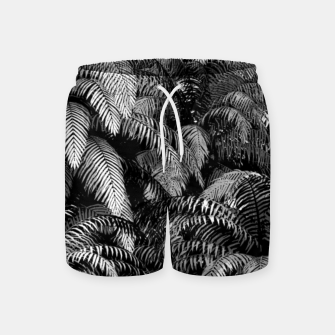 This World Is A Jungle Swim Shorts Bild der Miniatur