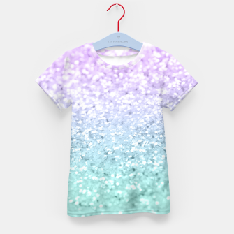 Thumbnail image of Mermaid Girls Glitter #1a (2019 Pastel Version) #shiny #decor #art  T-Shirt für kinder, Live Heroes