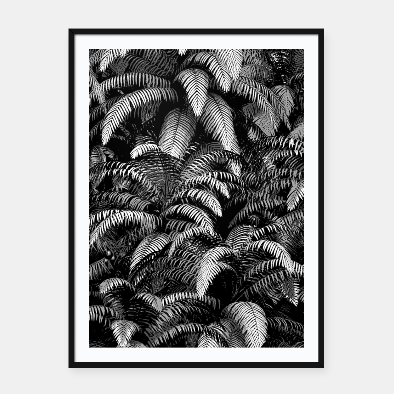 Foto This World Is A Jungle Framed poster - Live Heroes