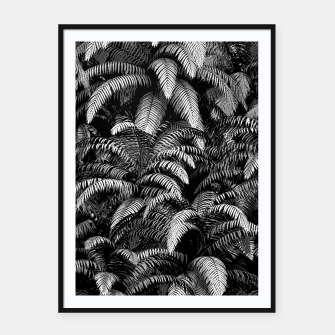 This World Is A Jungle Framed poster Bild der Miniatur