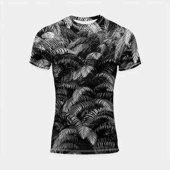 Thumbnail image of This World Is A Jungle Shortsleeve rashguard, Live Heroes