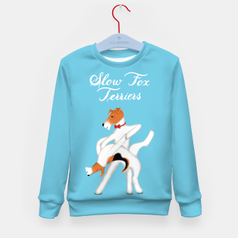 Thumbnail image of Slow Fox Terriers Kid's sweater, Live Heroes