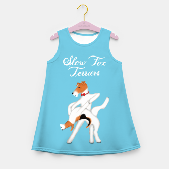 Thumbnail image of Slow Fox Terriers Girl's summer dress, Live Heroes
