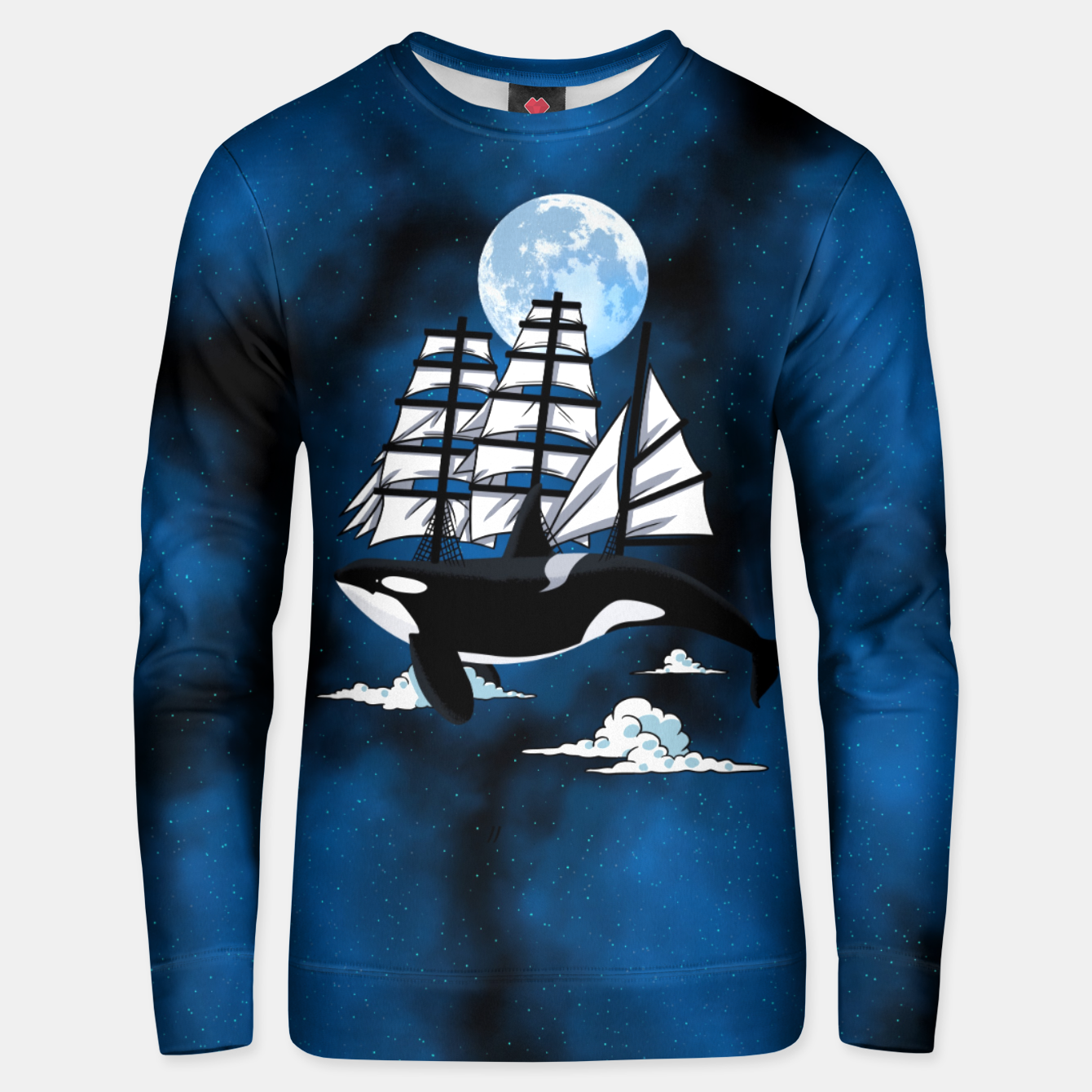 Foto Fantasy Killer Whale Sudadera unisex - Live Heroes