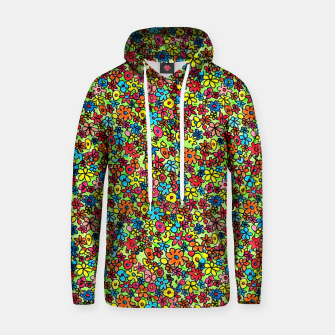 Thumbnail image of Flower doodles - hand drawn Hoodie, Live Heroes