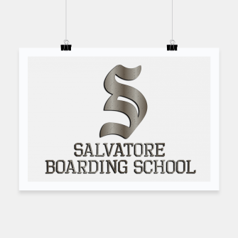Thumbnail image of Salvatore boarding school Poster, Live Heroes